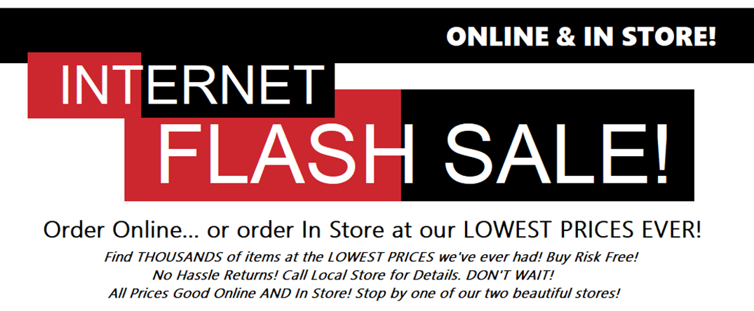 Internet Flash Sale